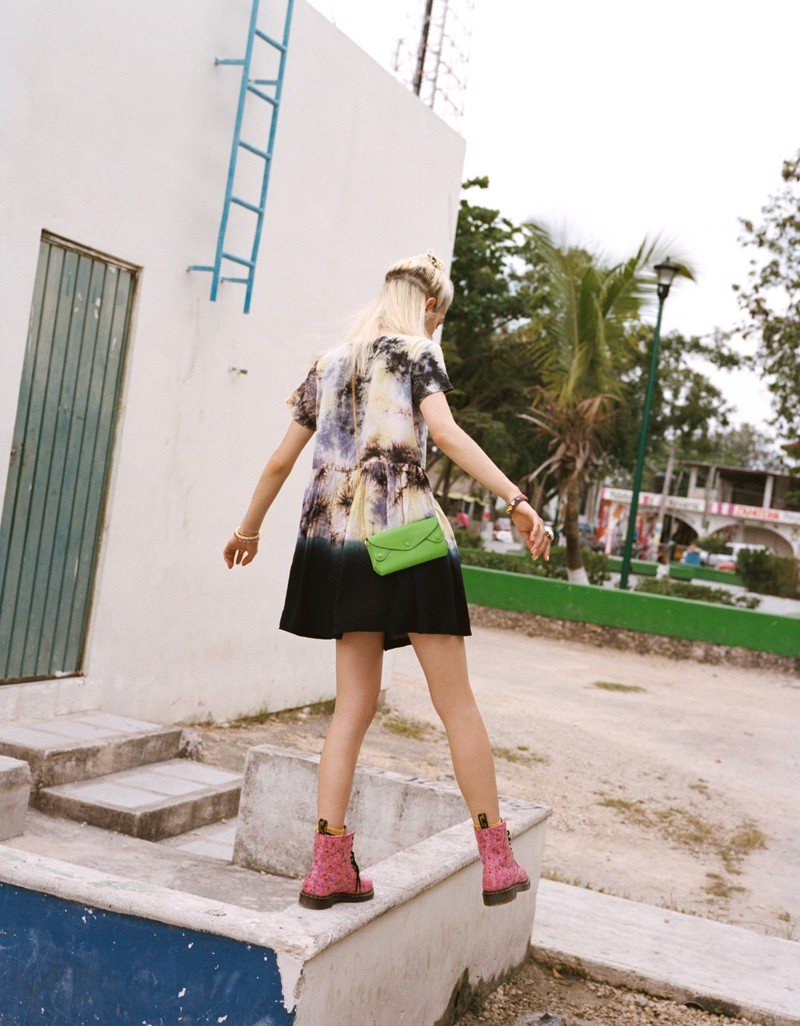 NaomiUO5 Naomi Preizler Heads to Tulum for Urban Outfitters Lookbook by Colin Leaman