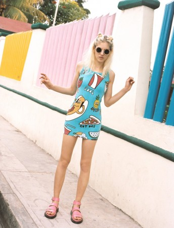 Naomi Preizler Heads to Tulum for Urban Outfitters Lookbook by Colin Leaman