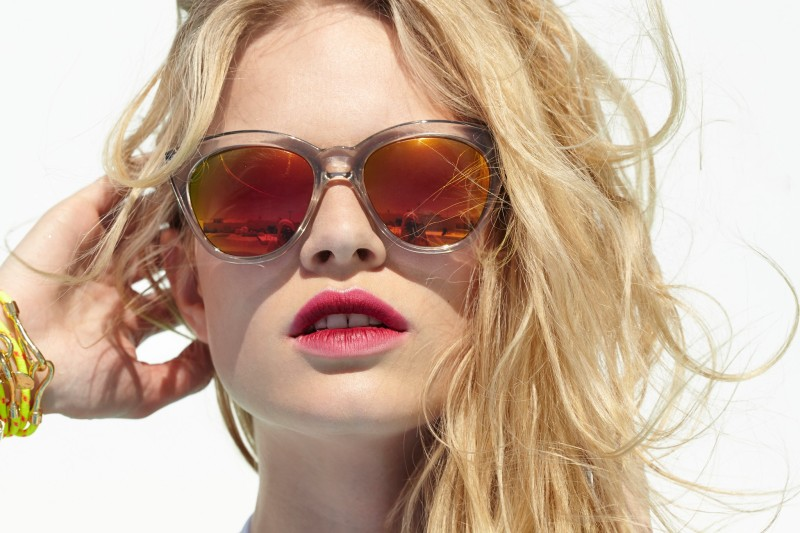 Anna Ewers Soaks up the Summer for Nasty Gal's May Lookbook