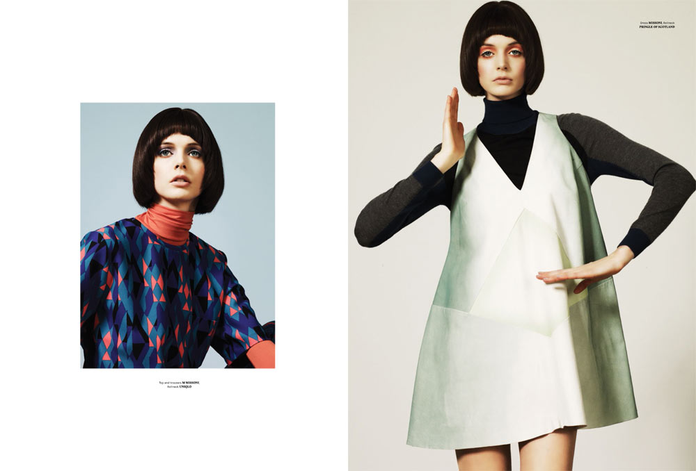 P 114 katy nik 4 Charon Cooijmans Models Retro Style for Used Magazine Spring Summer 2013