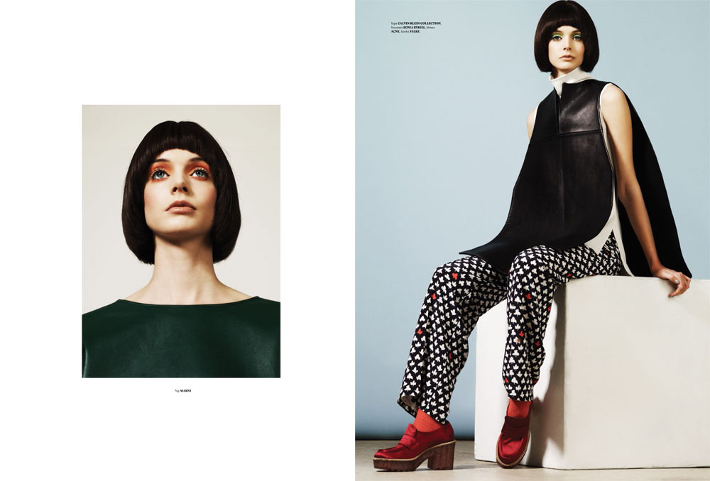P 114 katy nik 6 Charon Cooijmans Models Retro Style for Used Magazine Spring Summer 2013