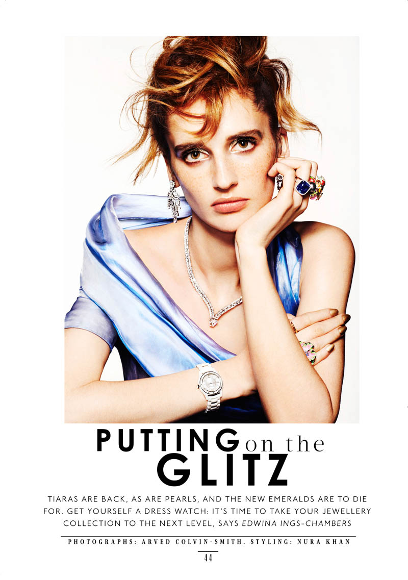 SHOT 03 sts arvedcolvin smith copy Sara Steiner Dons Elegant Gems for The Sunday Times Style by Arved Colvin Smith