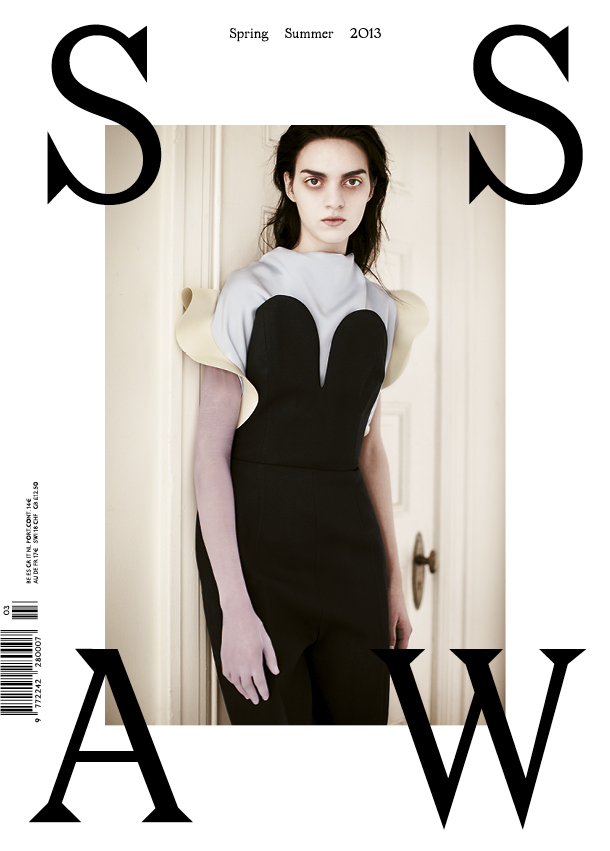 SSAW 3 Cover 2 Magda Laguinge Enchants In SSAW Magazines Spring 2013 Cover Shoot