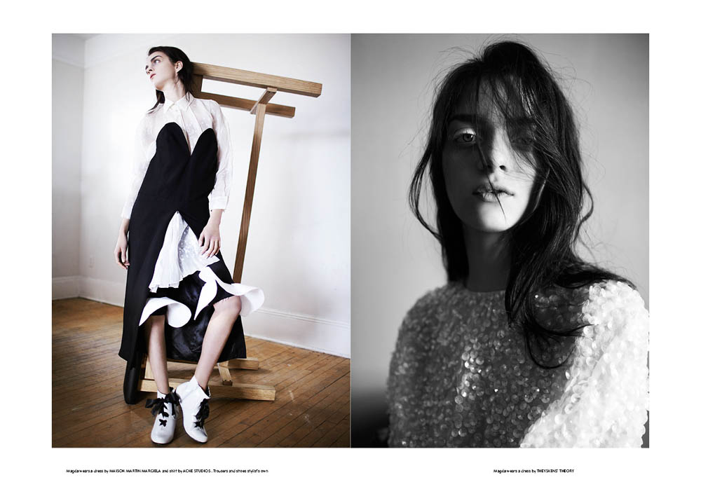 SSAW 3 Magda6 Magda Laguinge Enchants In SSAW Magazines Spring 2013 Cover Shoot