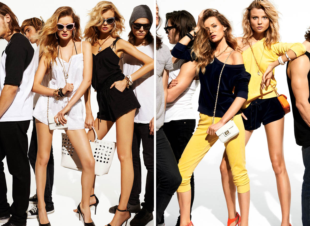 SUMMER 2 Juicy Couture Taps Edita Vilkeviciute and Magdalena Frackowiak for Summer 2013