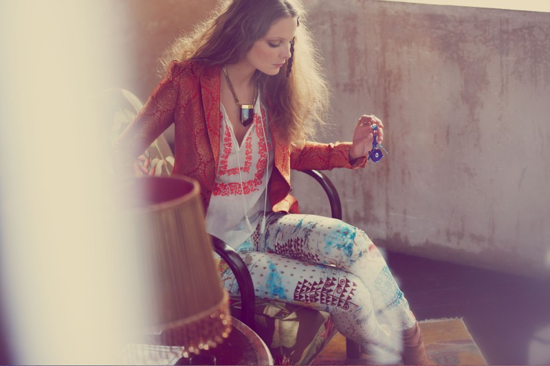ShopbopGypsy7 Eniko Mihalik Has a Bohemian Spring for Shopbop.com Shoot