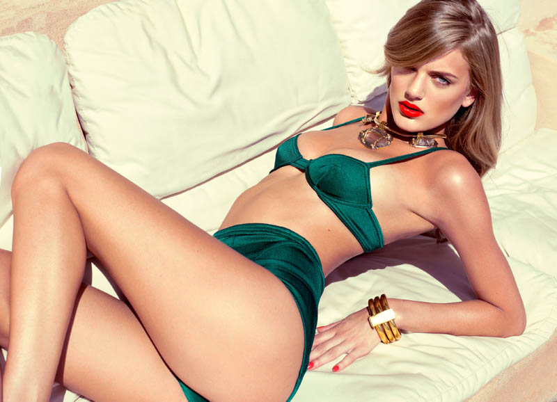 Bregje Heinen Sizzles for GQ UK July 2013 by Stevie and Mada