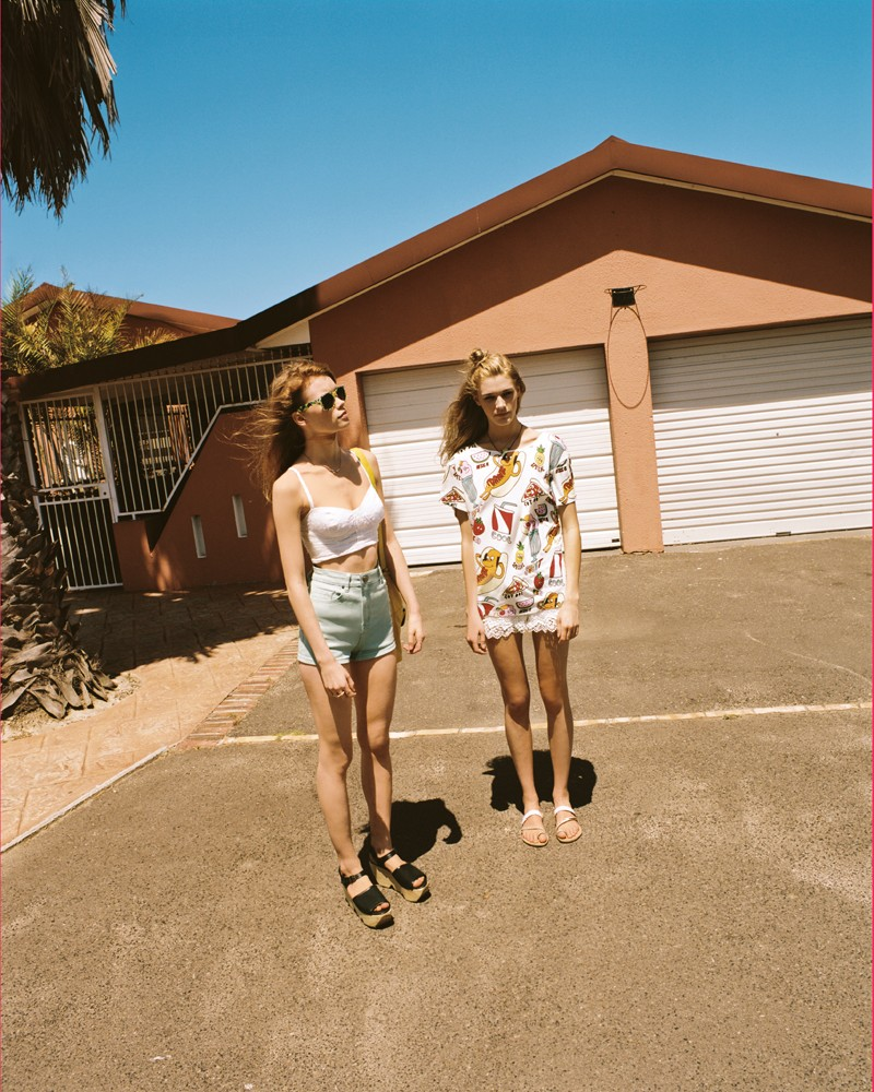 Julia Hafstrom Stars in Urban Outfitters' May 2013 Catalogue Featuring Summer Style