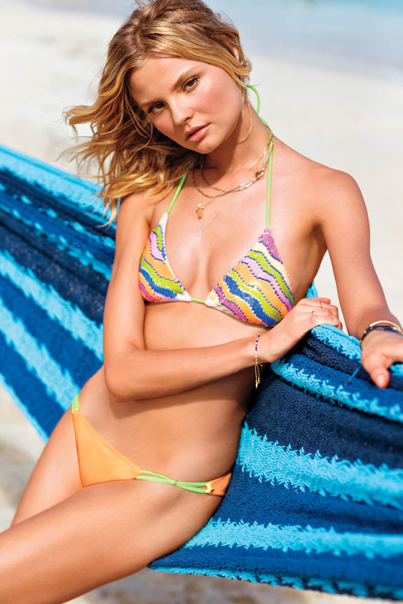 VSSexy10 Victorias Secret Taps Candice Swanepoel, Erin Heatherton and Magdalena Frackowiack for Island Hopping Catalogue