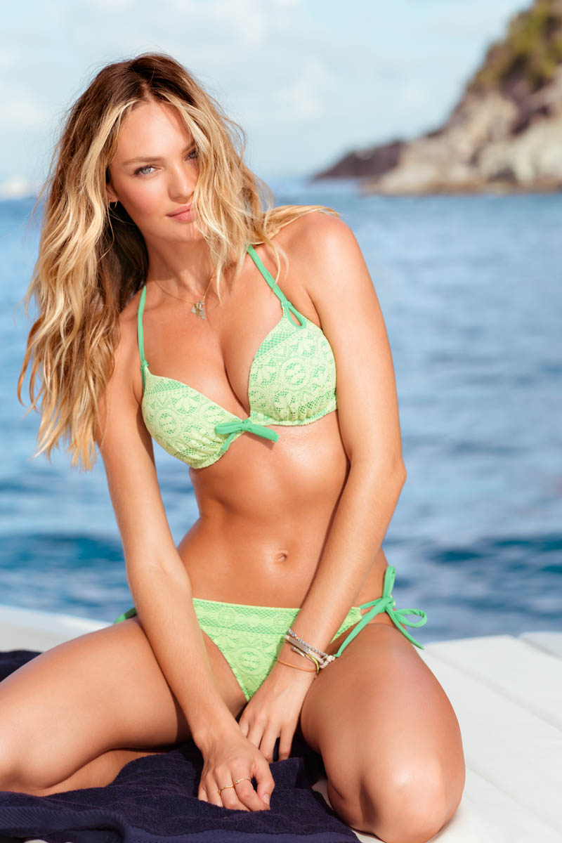 VSSexy5 Victorias Secret Taps Candice Swanepoel, Erin Heatherton and Magdalena Frackowiack for Island Hopping Catalogue