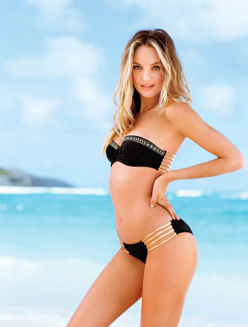 VSSexy9 Victorias Secret Taps Candice Swanepoel, Erin Heatherton and Magdalena Frackowiack for Island Hopping Catalogue