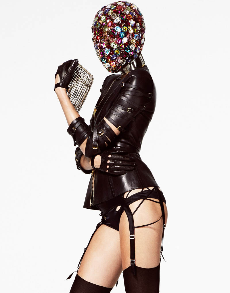 V HATS LORES 05 Josephine Skriver is a Hat Lady for V Magazine Online by Jason Kim