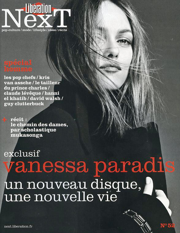 VanessaParadis6 Vanessa Paradis Poses for Karim Sadli in Libération Next #52