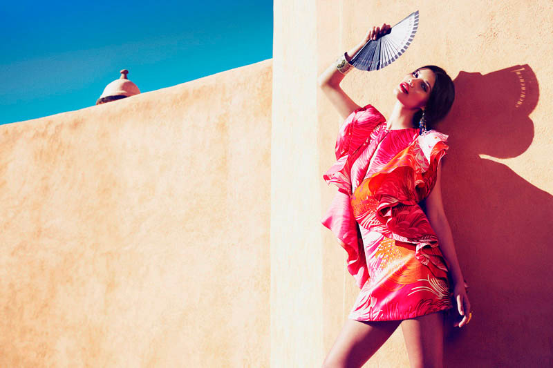 Tiffany Keller Sizzles In Mexico For Marie Claire Latin