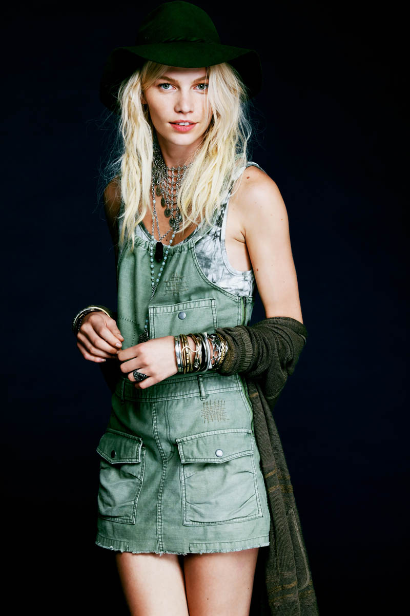 Aline Weber Stars In Free People S Safari Inspired May
