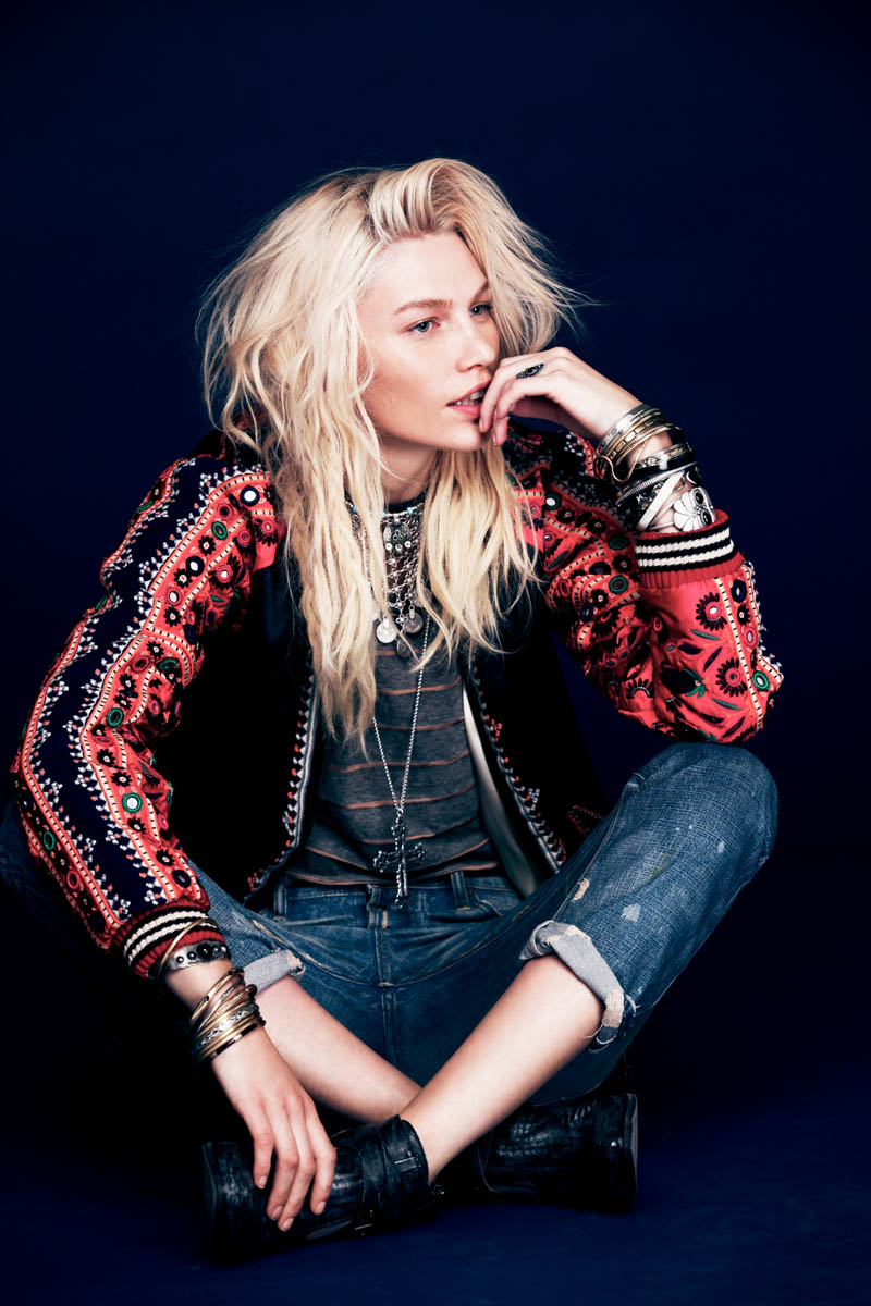 aline weber free people11 Aline Weber Stars in Free Peoples Safari Inspired May Lookbook