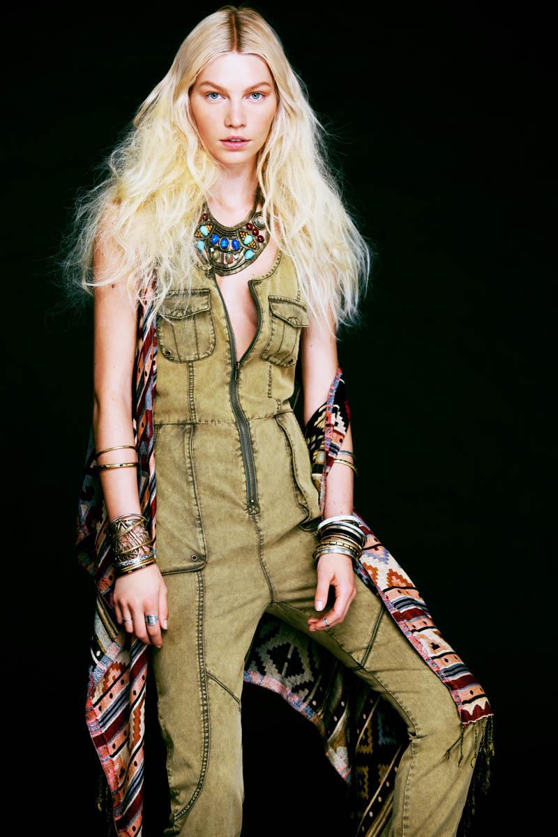 Aline Weber Stars in Free People's Safari-Inspired May Lookbook