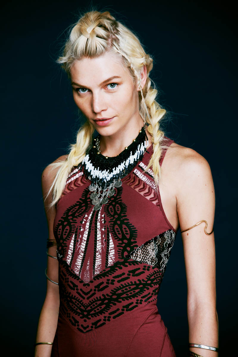 aline weber free people7 Aline Weber Stars in Free Peoples Safari Inspired May Lookbook