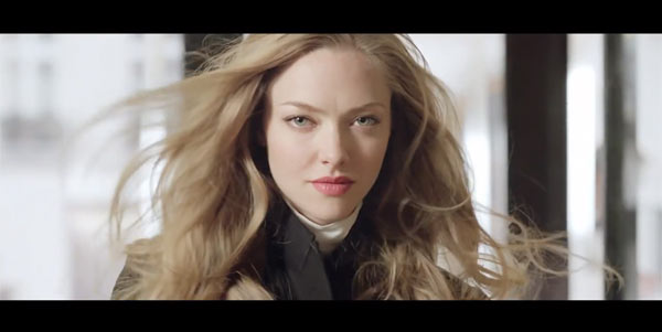 amanda givenchy commercial See Amanda Seyfried Star in Givenchys Very Irresistible TV Spot