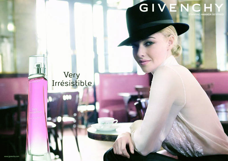amanda very irresistible Amanda Seyfrieds Givenchy Very Irresistible Fragrance Campaign Revealed