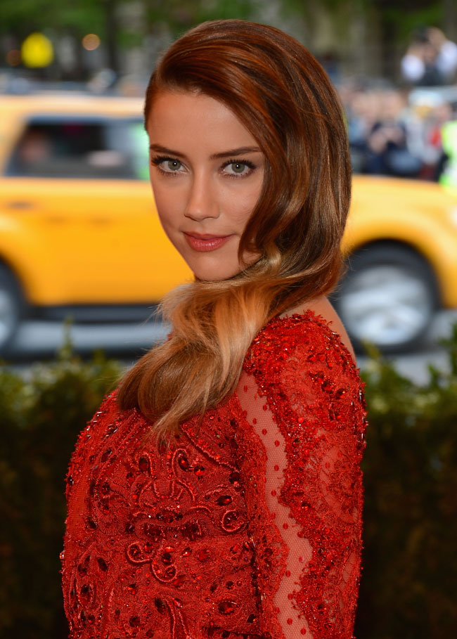 Amber Heard Shines in Emilio Pucci at the 2013 Met Gala