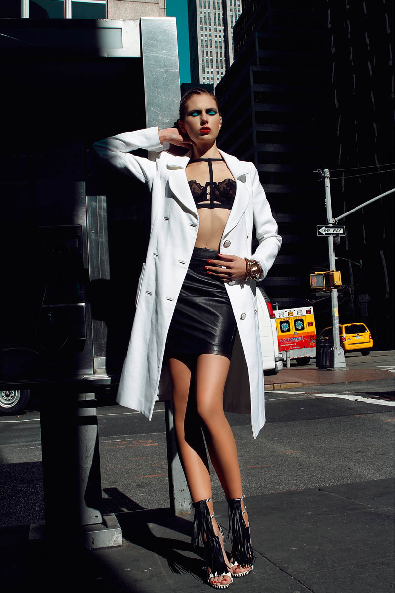 "Patrijia by Antia Pagant in ""City Slicker"" for Fashion Gone Rogue"