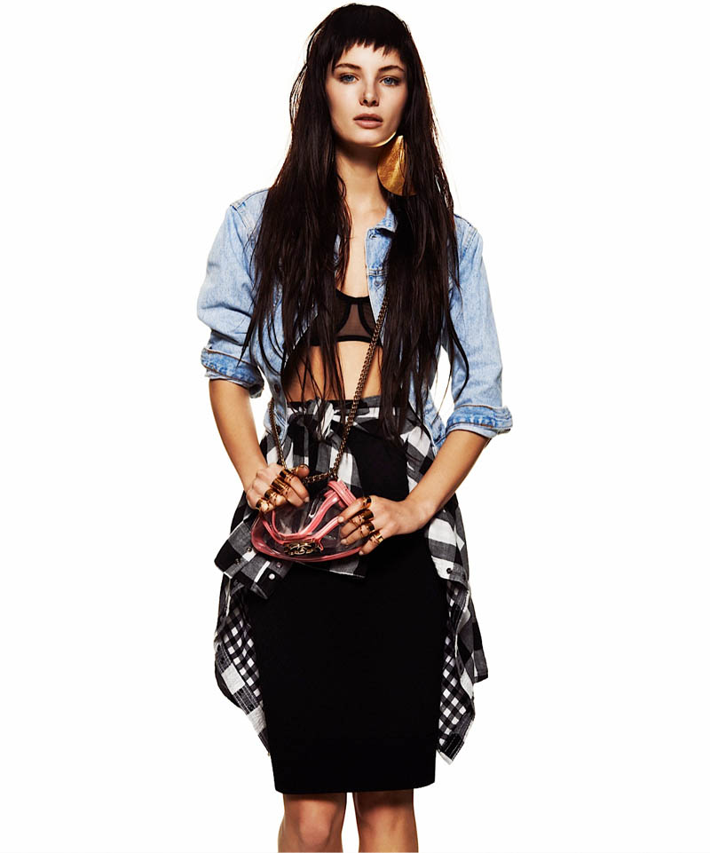 Ava Smith is Grunge Chic for Flaunt Magazine by Alexander Neumann