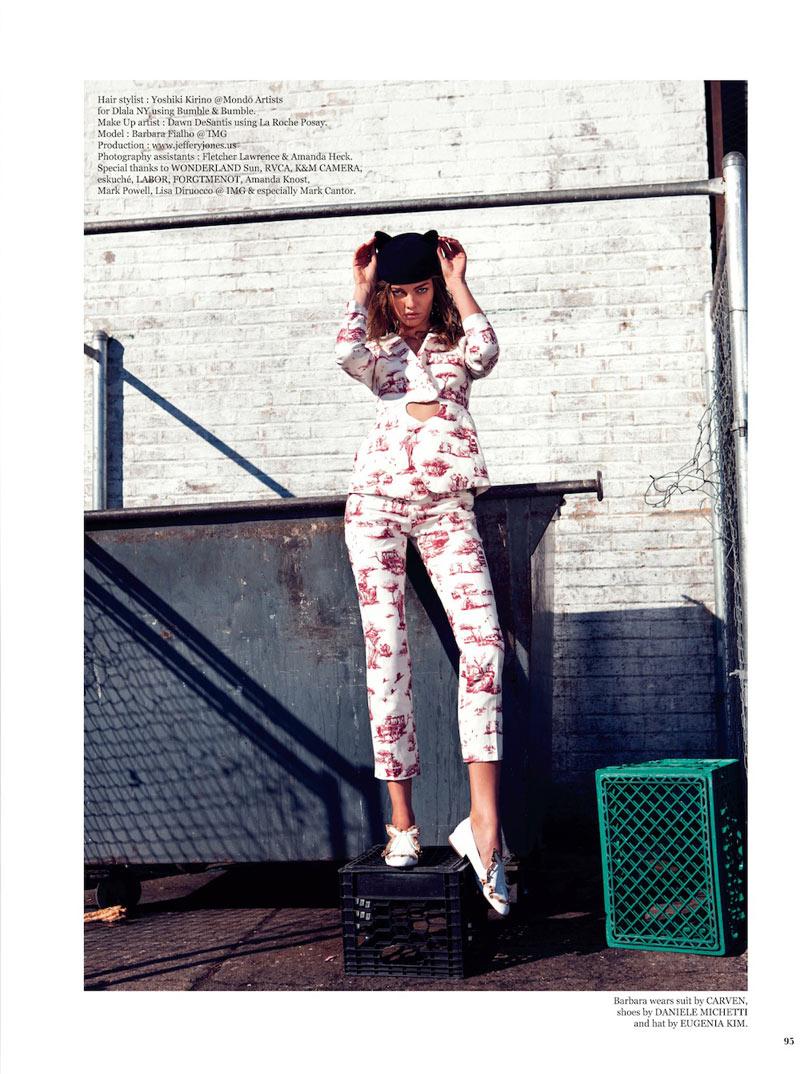 Barbara Fialho is Street Savvy for The Wild Magazine by Jeffery Jones