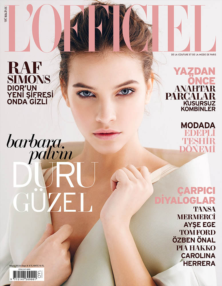 barbarapalvin emreguven 000 Barbara Palvin Stars in LOfficiel Turkey May 2013 Cover Shoot by Emre Guven