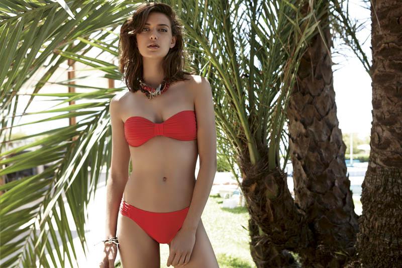 Aneu Riba Jimenez Fronts Tranvia Beach's Summer 2013 Campaign