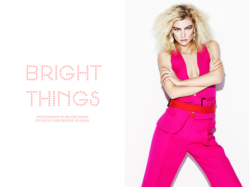 bright things Farah Holt by Brooke Nipar in Bright Things for Fashion Gone Rogue
