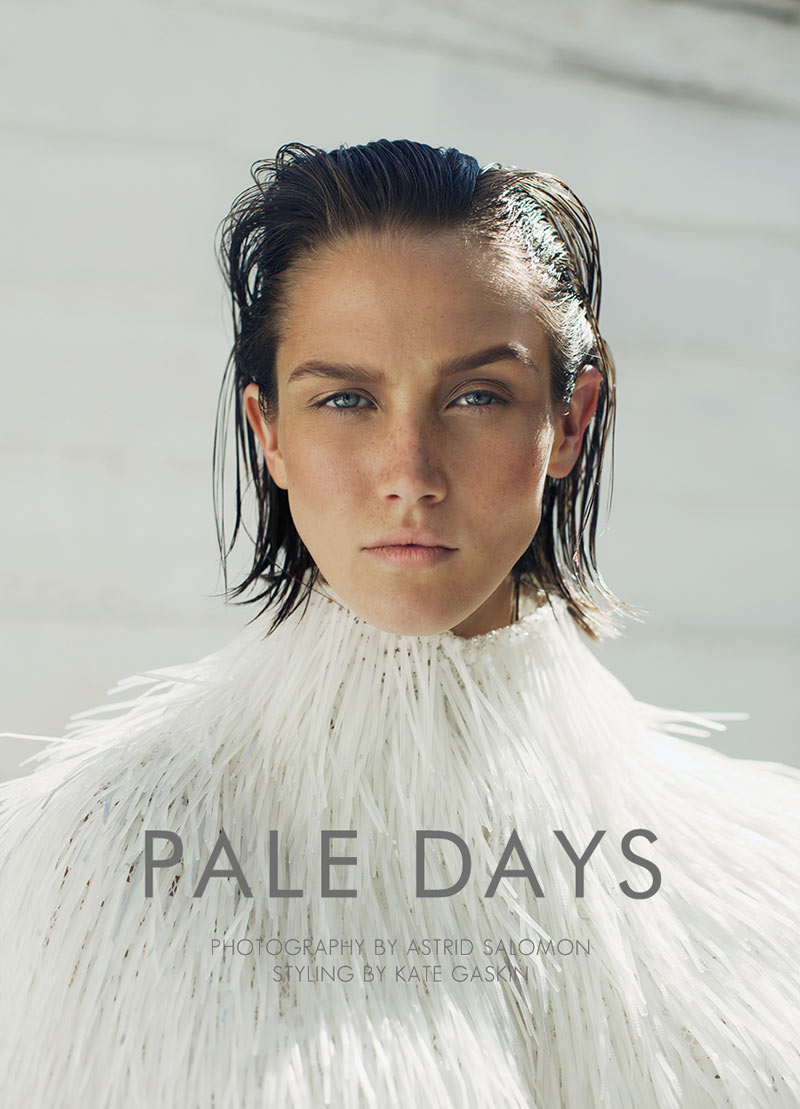 "Caitlin Lomax by Astrid Salomon in ""Pale Days"" for Fashion Gone Rogue"