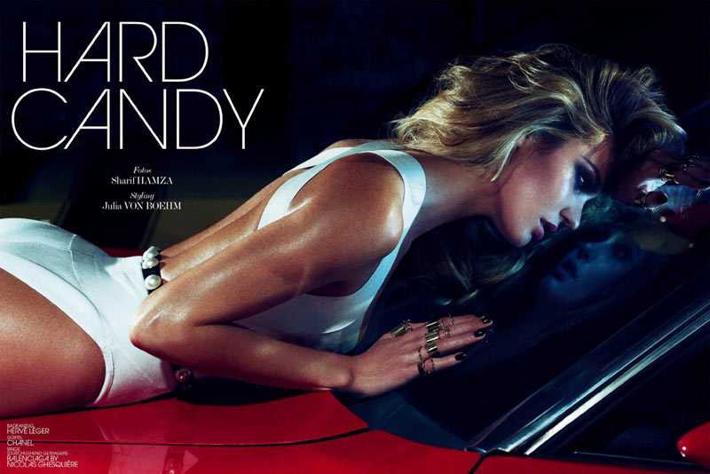 candice swanepoel interview germany1 Candice Swanepoel Stuns in Interview Germany June 2013 by Sharif Hamza