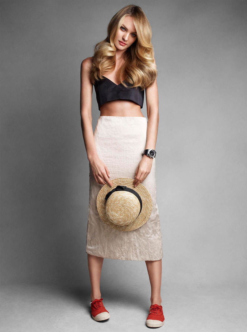 candice vogue shoot3 Candice Swanepoel Poses for Victor Demarchelier in Vogue Australia June 2013