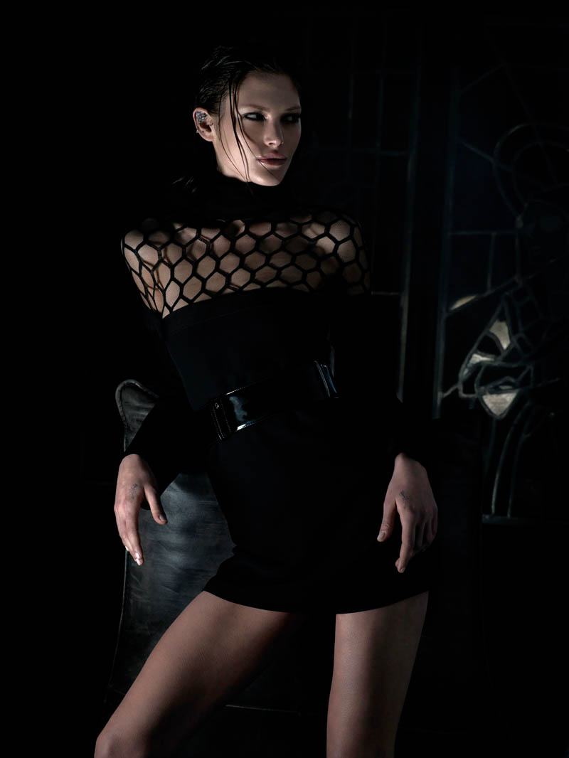 catherine mcneil shoot3 Catherine McNeil is Darkly Seductive for Numéro #143 by Wing Shya