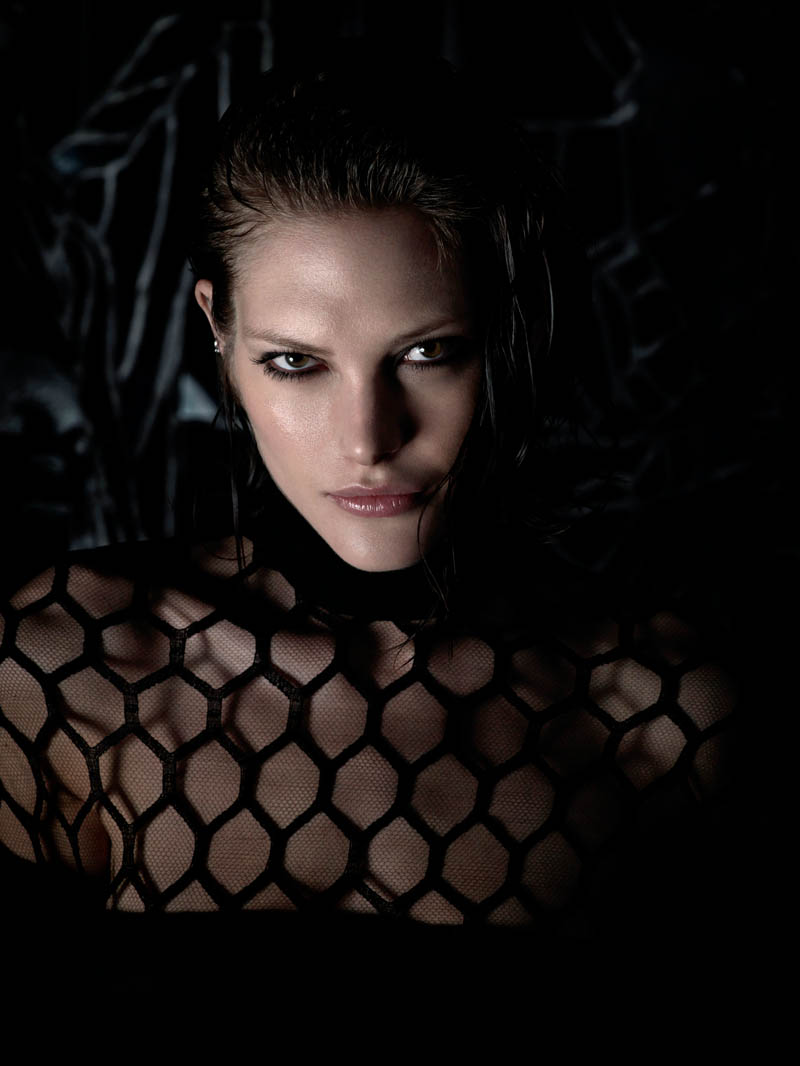 catherine mcneil shoot7 Catherine McNeil is Darkly Seductive for Numéro #143 by Wing Shya