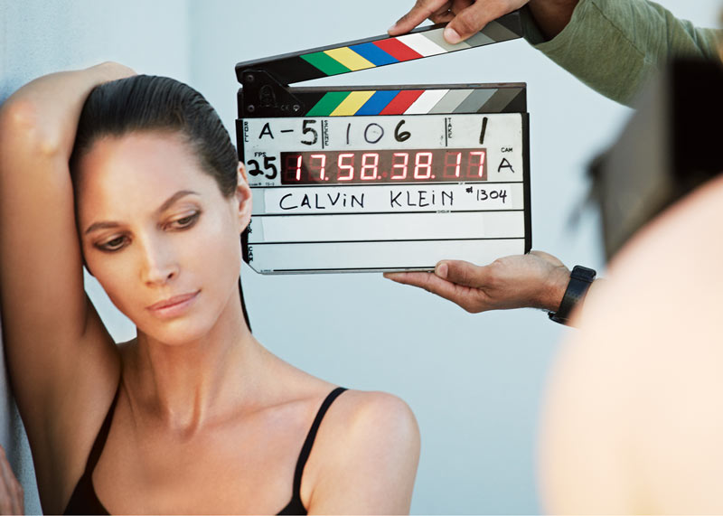 christy calvin klein bts Christy Turlington to Star in Calvin Klein Underwear Campaign for Fall 2013