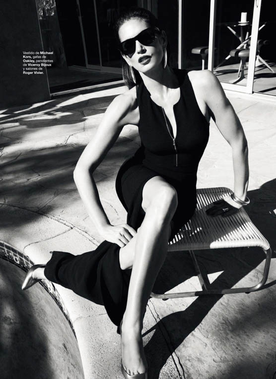 cindy crawford bazaar spain3 Cindy Crawford Stars in Harpers Bazaar Spain June 2013 Cover Shoot by Nagi Sakai