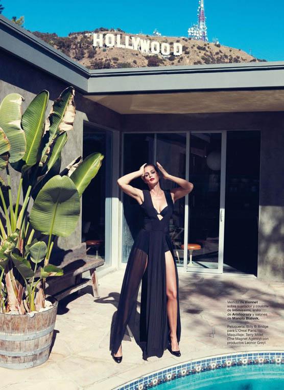 Cindy Crawford Stars in Harper's Bazaar Spain June 2013 Cover Shoot by Nagi Sakai