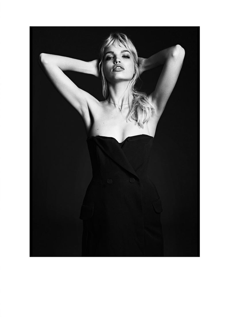 daphne groeneveld twin magazine5 Daphne Groeneveld in Black and White for Twins Spring/Summer 2013 Edition