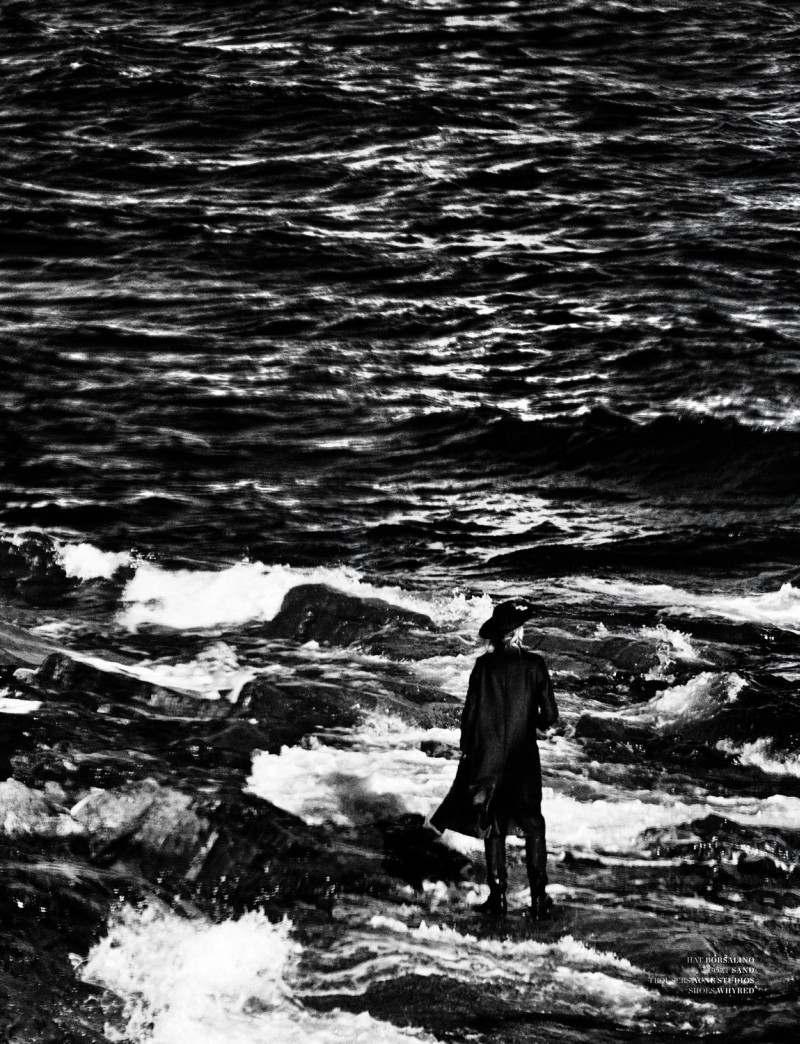 Julia Hafstrom Dives into Deep Waters for Scandinavia S/S/A/W 2013