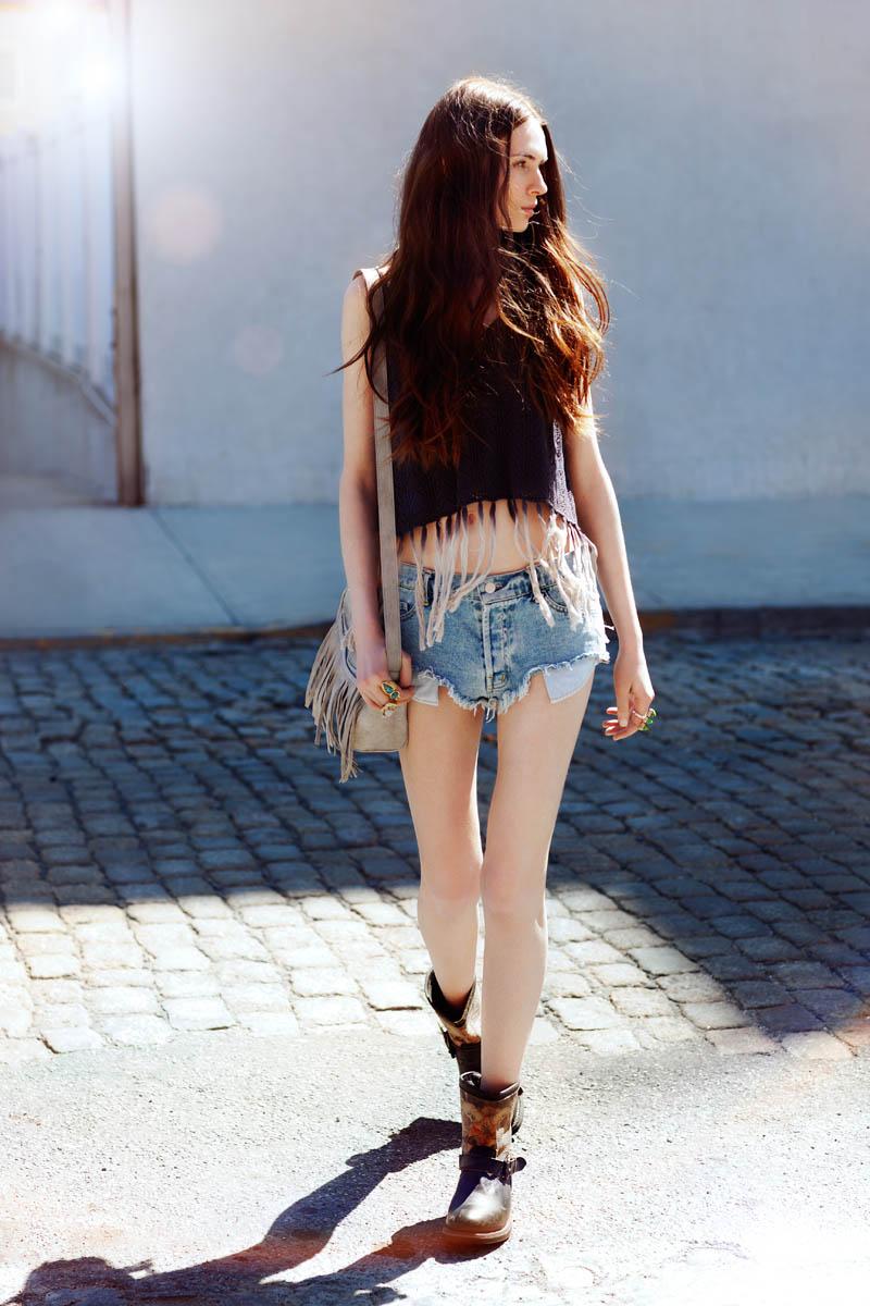 """Yuliana Bondar by Della Bass in """"Brooklyn Chick"""" for Fashion Gone Rogue"""