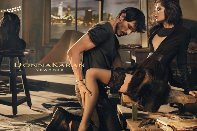 donna karan fall campaign Catherine McNeil Seduces for Donna Karan Fall 2013 Campaign