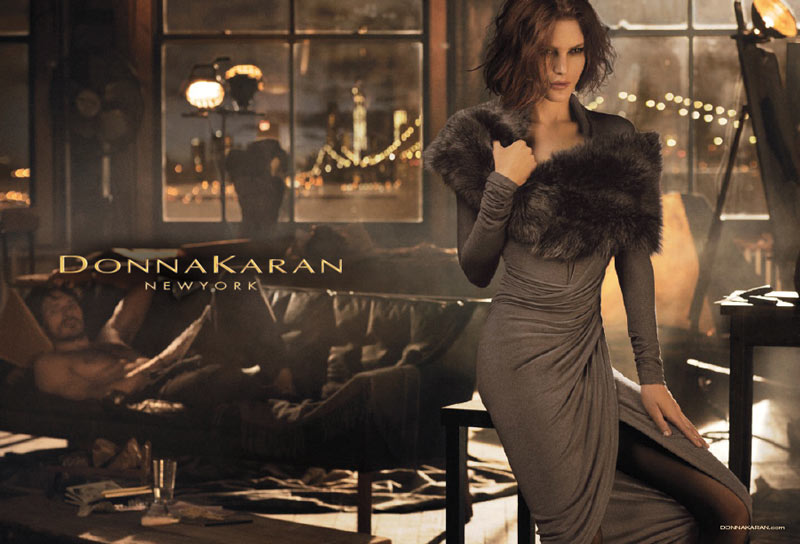 donna karan fall3 See More Images from Donna Karans Fall 2013 Campaign with Catherine McNeil