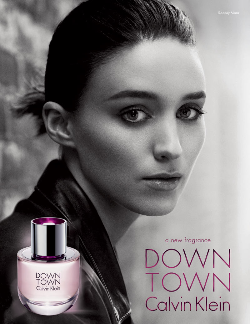downtown calvin klein rooney mara Rooney Mara Fronts Calvin Klein Downtown Fragrance Campaign
