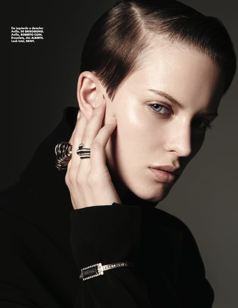 Ellinore Erichsen is a Minimalist for Elle Mexico May 2013 by Manolo Campion