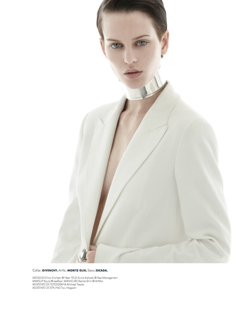 ellinore erichsen8 Ellinore Erichsen is a Minimalist for Elle Mexico May 2013 by Manolo Campion