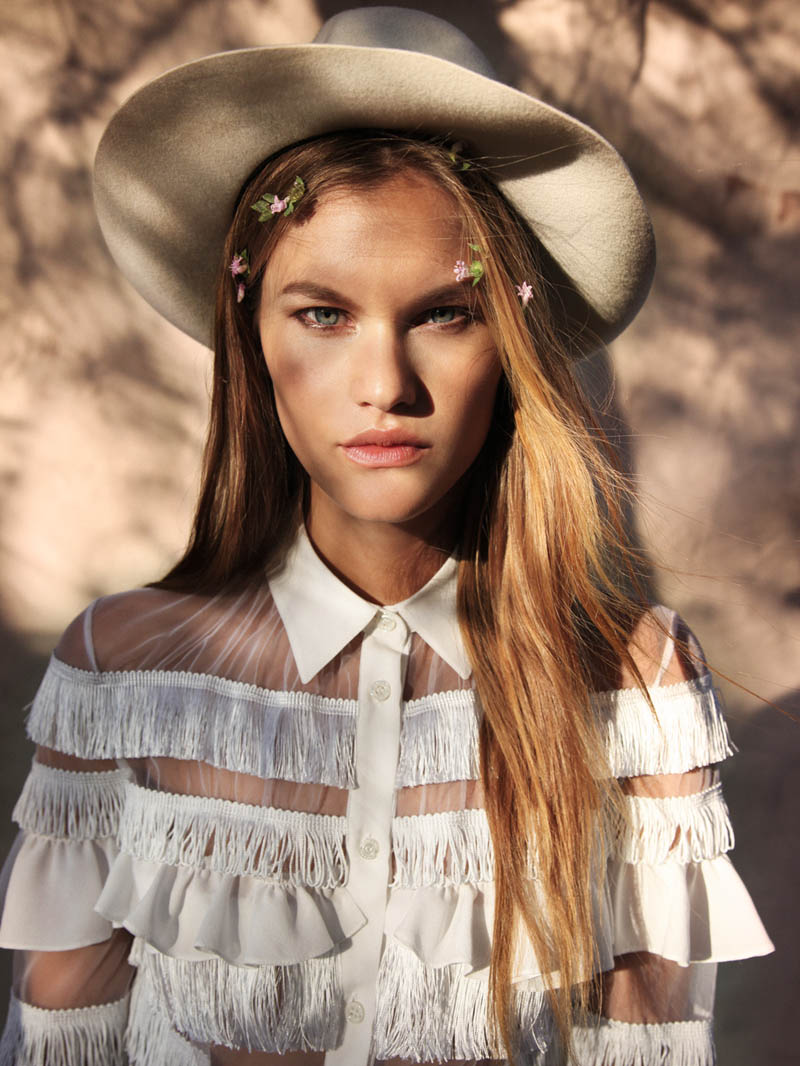 "Pia Wille by Elliot & Erick in ""A Change of Season"" for Fashion Gone Rogue"