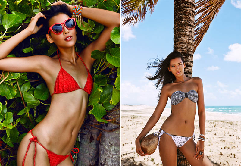 Lisandra Mendes Sizzles in Eve Brazil's S/S 2014 Campaign by Francisco Garcia