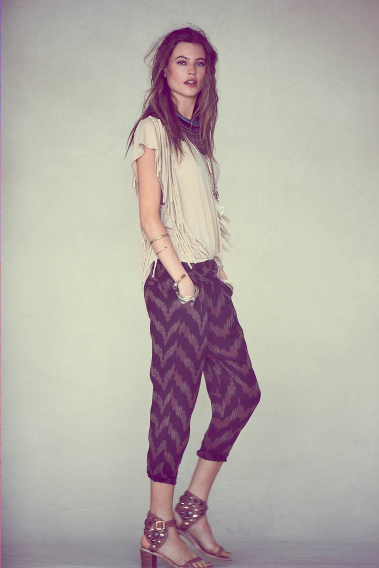 free people behati prinsloo12 Behati Prinsloo Fronts Free Peoples June e Catalog